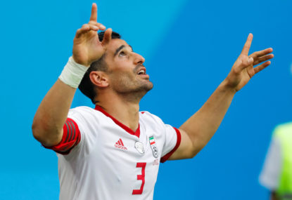 Iran's win a win for Asia