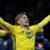 Sweden's Emil Forsberg celebrates