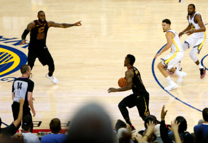Who was really to blame for the Cavs' Game 1 loss?