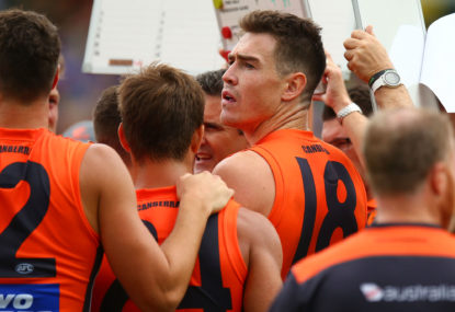 Trade period and draft analysis - GWS Giants