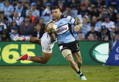 New Zealand Warriors vs Cronulla Sharks: NRL live scores, blog