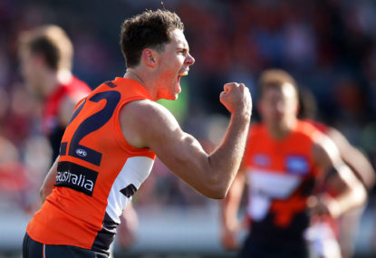 GWS Giants vs Adelaide Crows: AFL highlights, live scores, blog