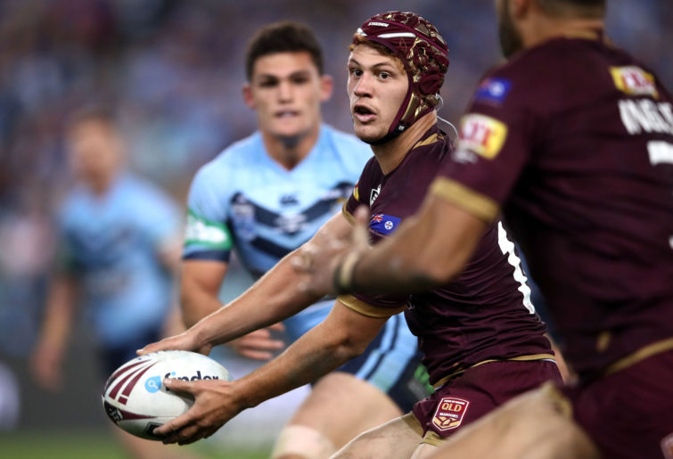 Kalyn Ponga of the Maroons