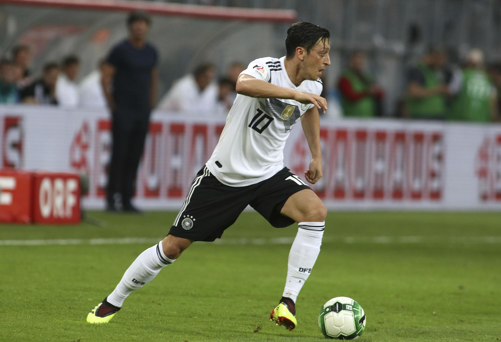 Mezut Ozil Germany