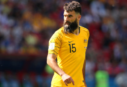 Jedinak retires from international football