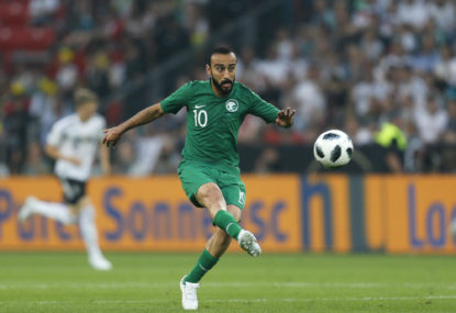 Saudis strike blow for Asia at World Cup