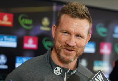 Retraction and apology: Nathan Buckley can coach