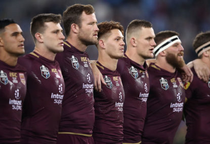 Maroons rebuild starts on Thursday