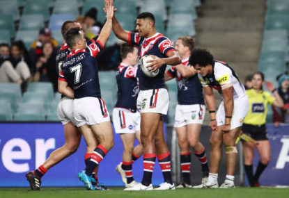 Roosters move to first with win over Souths