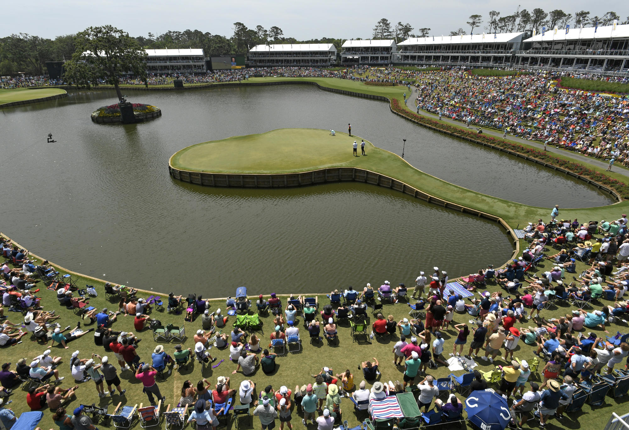 Sawgrass 17th hole.