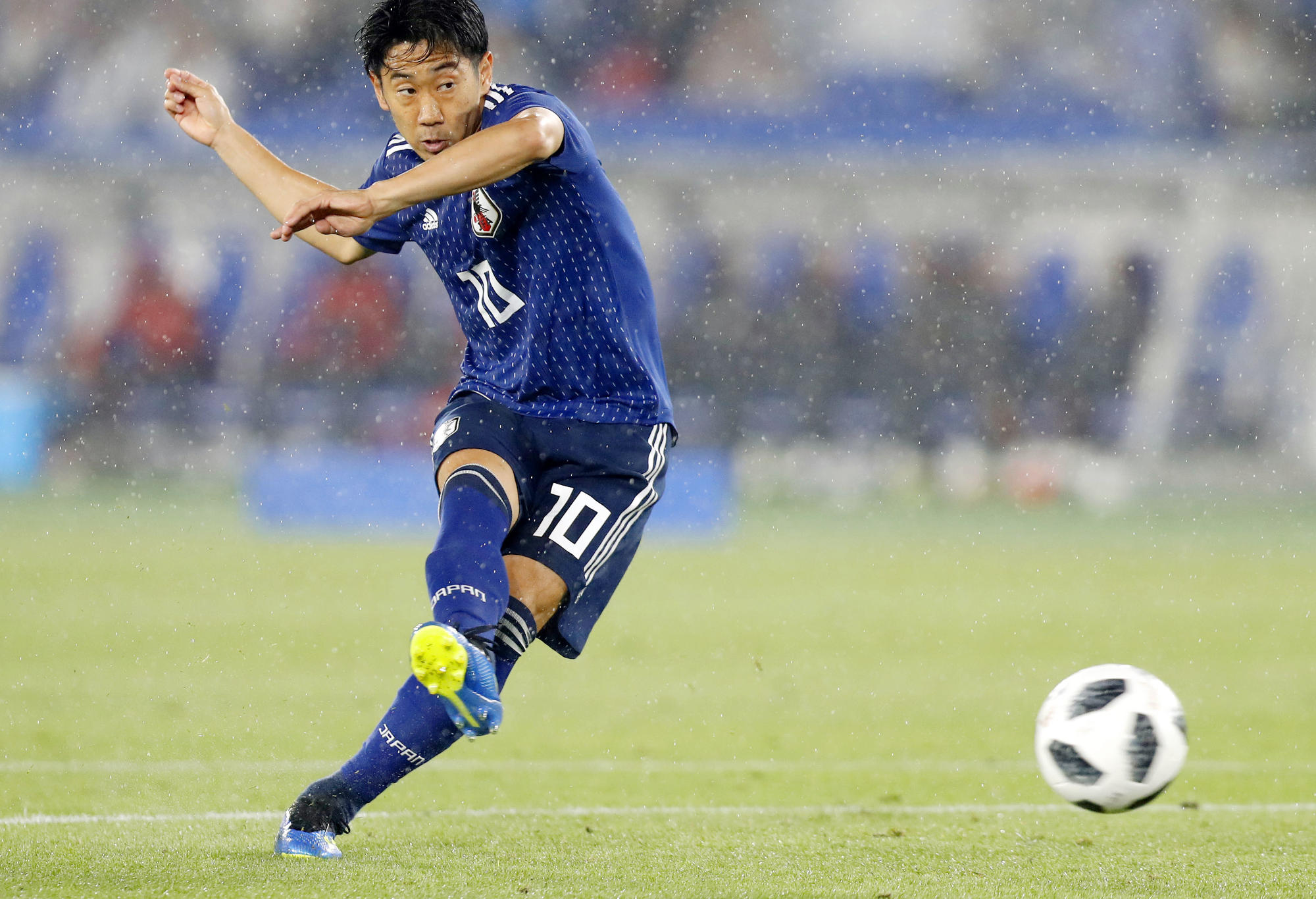 Japan football friendly.