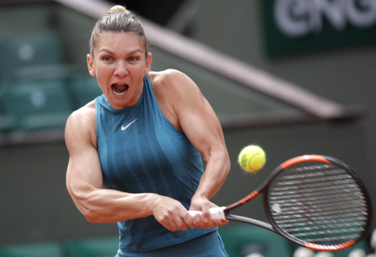 Simona Halep French Open.