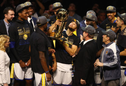 Warriors sweep Cavs to win NBA title