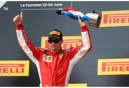 Räikkönen's victory provides closure on Ferrari tenure