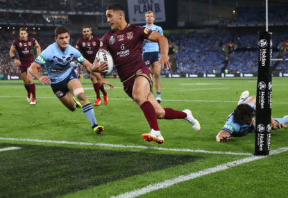 WATCH: Queensland cross the line first in Origin 3