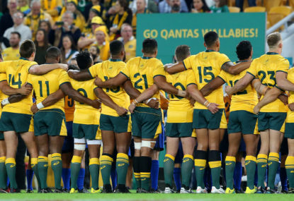 Wallabies name 31-man squad for 2019 Rugby World Cup