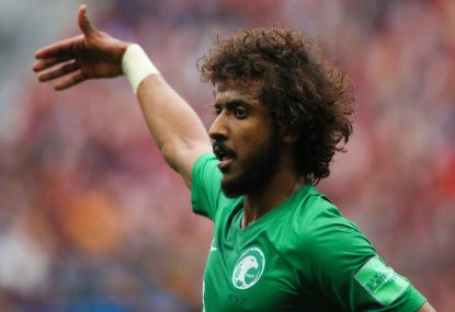 Saudi Arabia defeat Egypt with 95th-minute winner