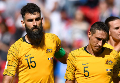 Proud Socceroos bow out of Russia with a hole to fill