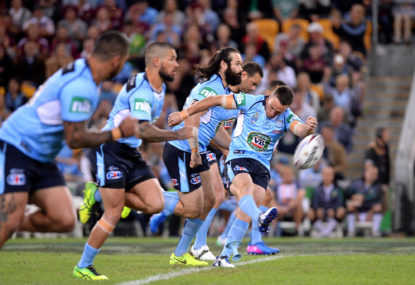 State of Origin Game 1 half-time report: Blues head into the break with narrow lead