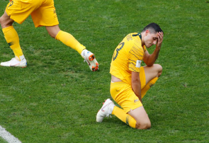 Socceroos lose Asian Cup opener 1-0 to Jordan in harrowingly familiar fashion