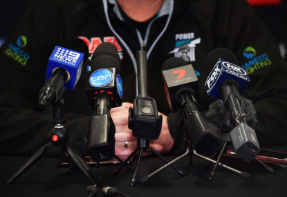 State of the game? It's the state of the football media that's the problem