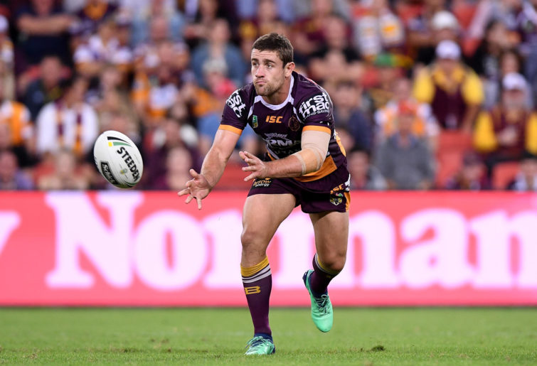 Andrew McCullough of the Brisbane Broncos.