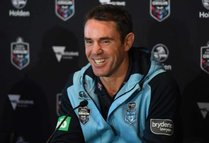 Which coach has the edge heading into Origin 1?