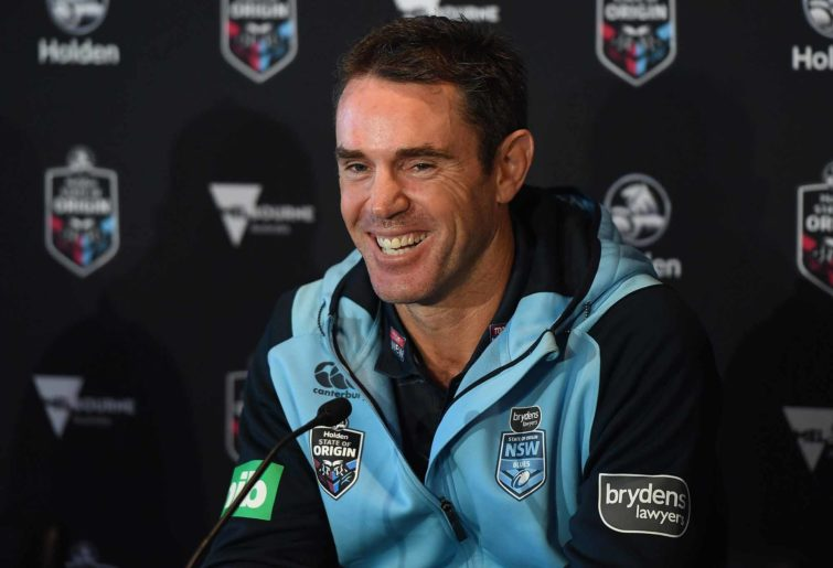NSW State of Origin coach Brad Fittler