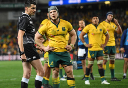 World Rugby admit WC refereeing has not been up to scratch