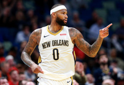 Cousins joins the Warriors for pocket change