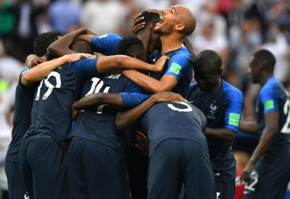 WATCH: Benjamin Pavard's goal of the World Cup