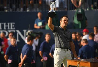 Francesco Molinari claims British Open win