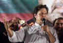 Cricketer Nawaz Sharif; Politician Imran Khan