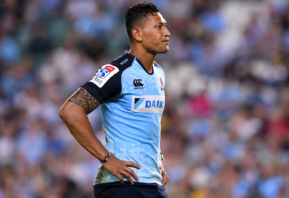 The thing no one wants to say about Israel Folau