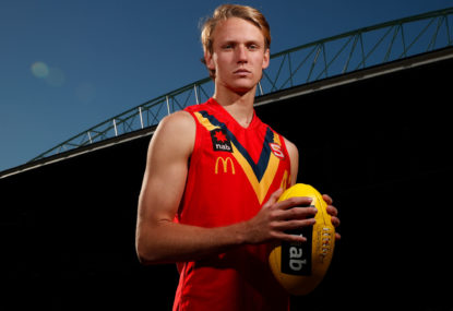 Quest for pick 1: Can the Adelaide Crows land Jack Lukosius?