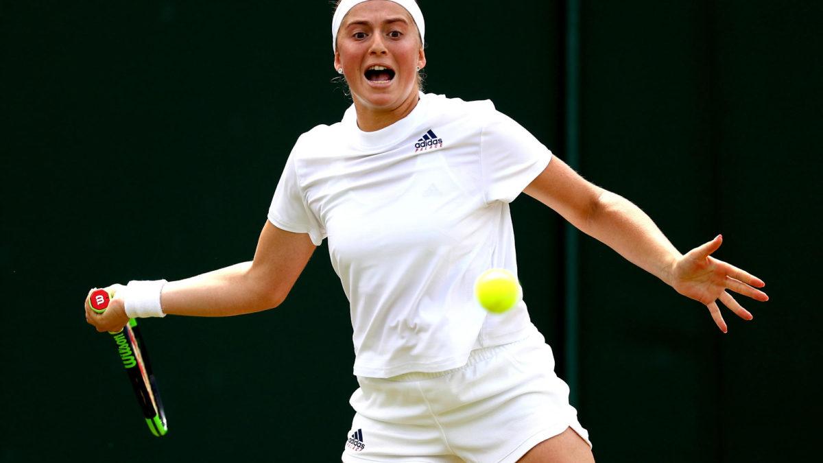 Dominika Cibulkova Vs Jelena Ostapenko Wimbledon Women S