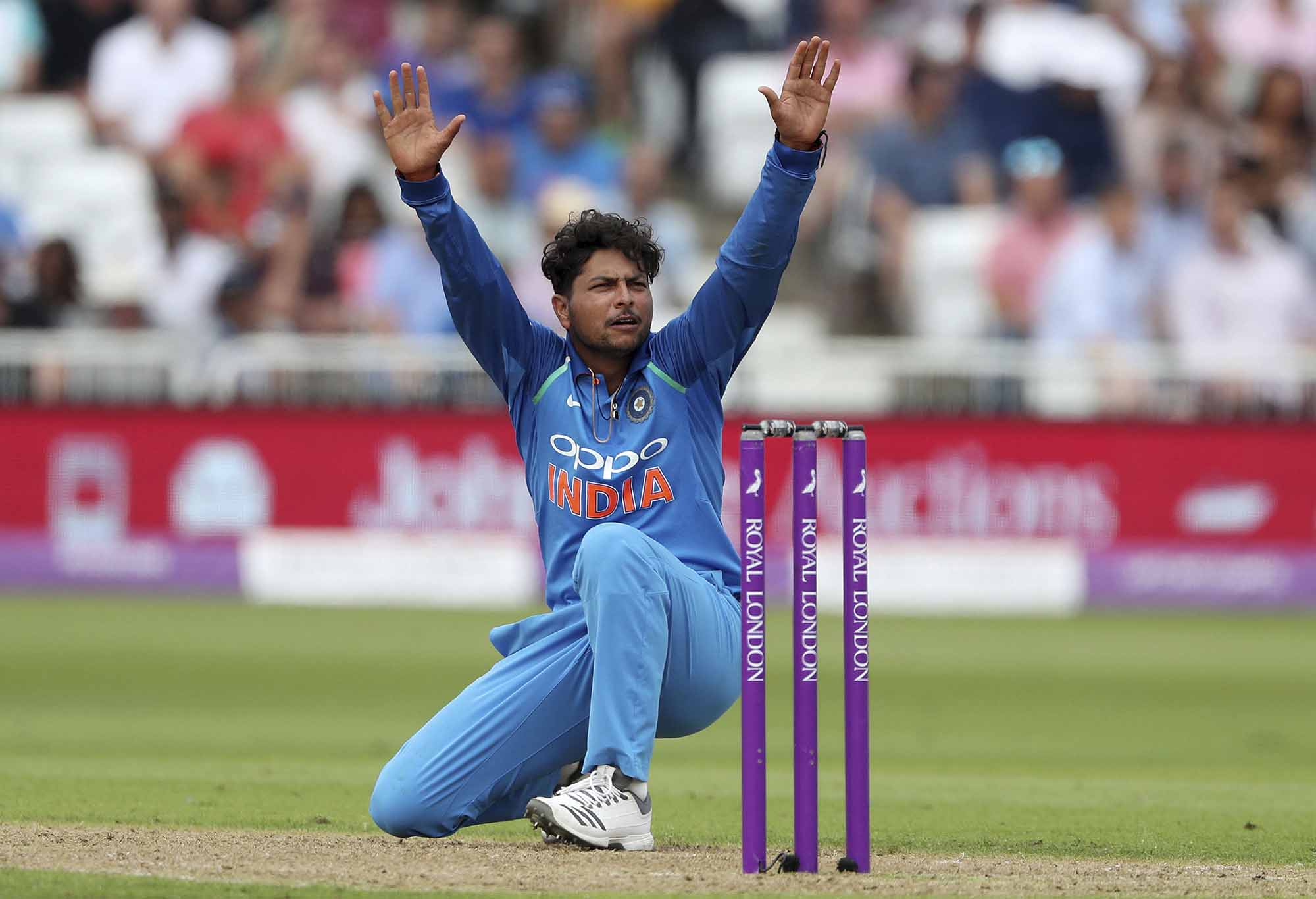 India's Kuldeep Yadav