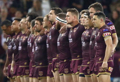 Maroons make two changes in team for Origin 2