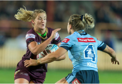 Women's State of Origin launched for 2019