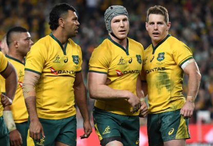 Rugby Australia's Bledisloe effort? Send in the clowns