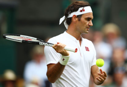 Roger Federer won't be emulating Merlene Ottey's ageless career