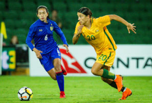 The Matildas keep showing the Socceroos how it's done
