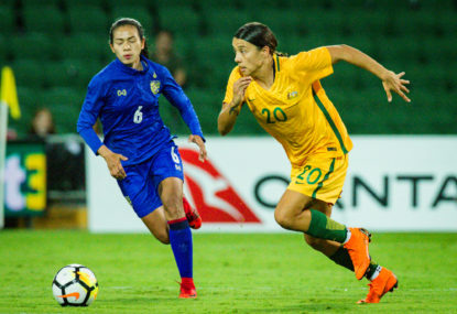 Matildas made the victims of a Chile smash-and-grab