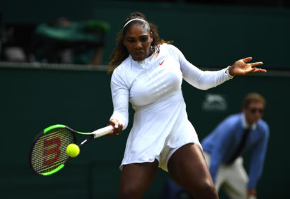 Serena set to match Margaret