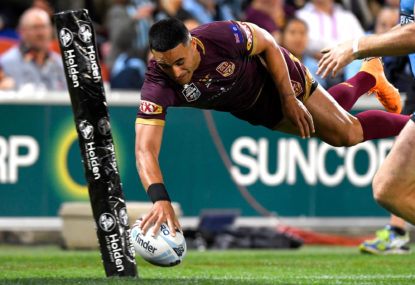 Origin 3 first try scorer: Valentine Holmes gets the first try of the decider