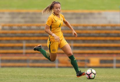 Young Matildas in AFF final