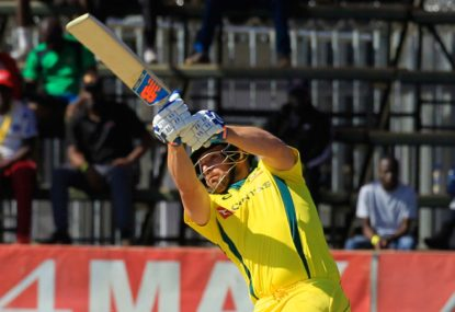 Finch set for Ashes trial in UAE