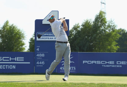 Allen John stuns the golfing world at the European Open