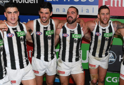 Lock it in, Eddie: Finals guaranteed for Collingwood after shutting off the Power