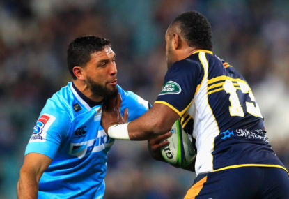 The Waratahs were at their brain-dead worst last week